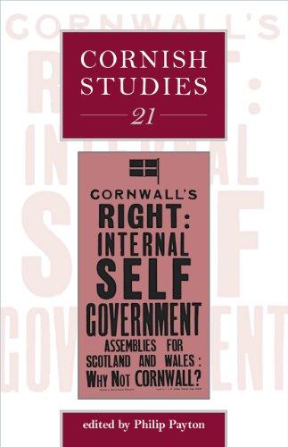 Cornish Studies 21 -: Payton, Philip