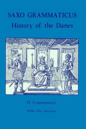 9780859910620: Saxo Grammaticus, The History of the Danes, Books I-IX, Vol.2: Commentary