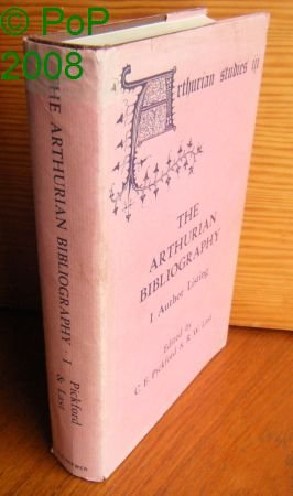 The Arthurian Bibliography I; Author Listing, II; Subject Index 2 Volumes