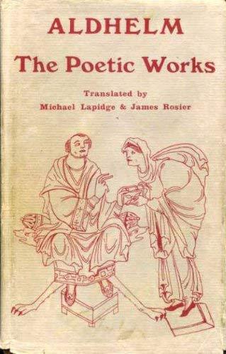 9780859911467: Aldhelm: The Poetic Works (0)
