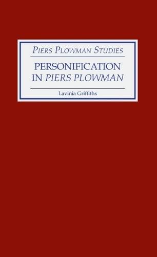 9780859911849: Personification in Piers Plowman (Piers Plowman Studies)