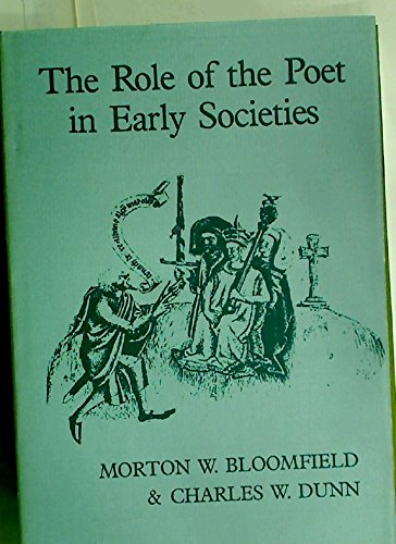 9780859912792: The Role of the Poet in Early Societies