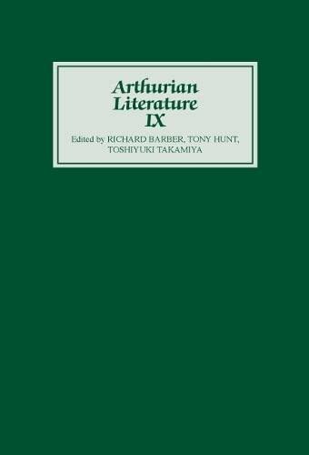 9780859912914: Arthurian Literature IX (Vol 9)