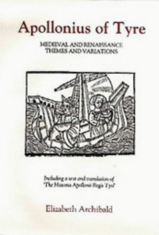 9780859913164: Apollonius of Tyre: Medieval and Renaissance Themes and Variations