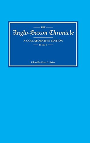 9780859914901: Anglo-Saxon Chronicle 8: MS F