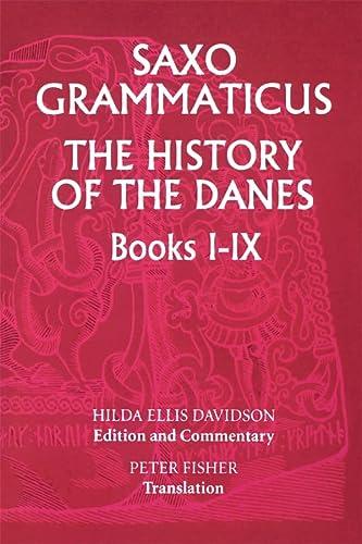 9780859915021: Saxo Grammaticus: The History of the Danes Books I-IX