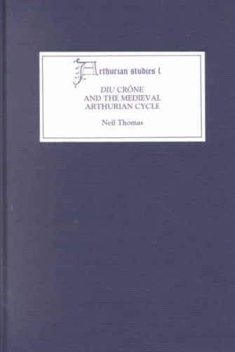 9780859916363: Diu Crône and the Medieval Arthurian Cycle (Arthurian Studies, 50)
