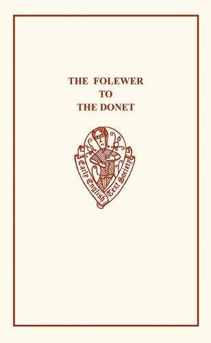 The Folewer to The Donet: E. V. Hitchcock