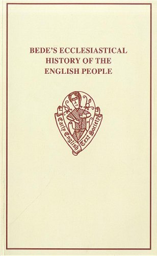 9780859917223: Old English Version of Bede's Ecclesiastical History of the English People I.ii (Early English Text Society Original Series)