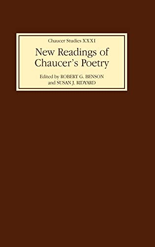 9780859917780: New Readings of Chaucer's Poetry (Chaucer Studies)