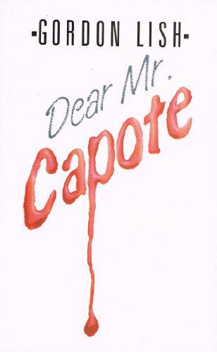 9780859979818: Dear Mr. Capote (Firecrest Books)