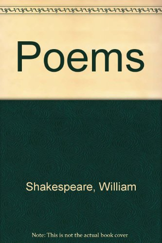 The Poems of William Shakespeare . First: Shakespear,William.