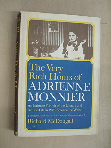 9780860000679: The Very Rich Hours of Adrienne Monnier
