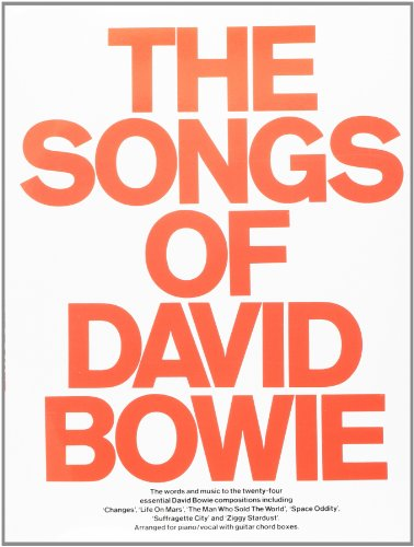 9780860010043 The Songs Of David Bowie Piano Vocal Guitar