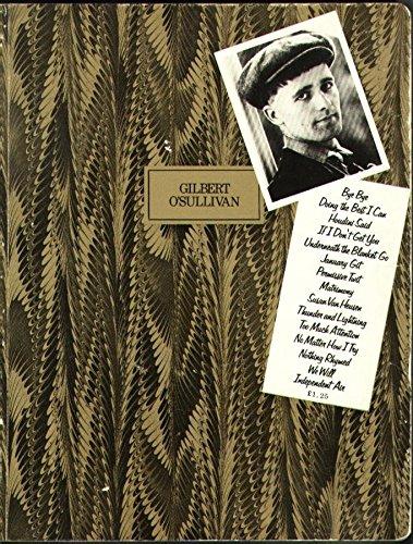 Gilbert O'Sullivan (Personality Books): McConnell, John; O'Neill,