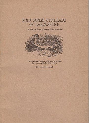 9780860010272: Folk Songs and Ballads of Lancashire