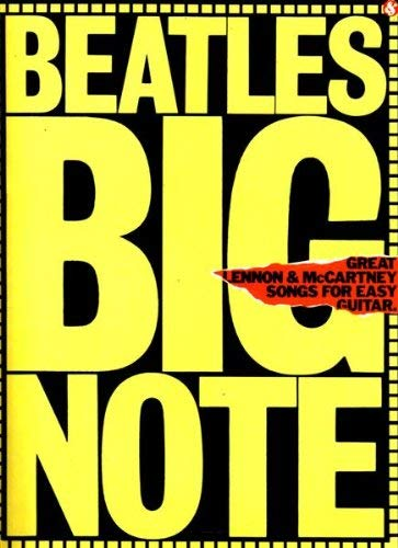 9780860010388: The Beatles Lennon and McCartney: Fifty Great Songs: Big Note Guitar