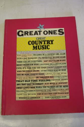 9780860011231: Great Country Music