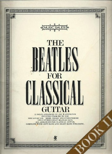 the beatles for classical guitar joe washington pdf