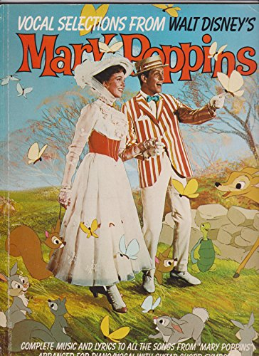 9780860013303: Vocal Selections from Walt Disney's Mary Poppins