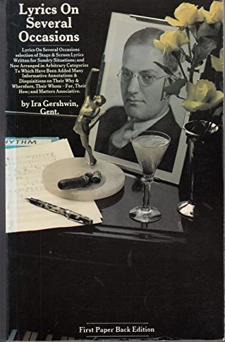Lyrics on Several Occasions : Selection of: Gershwin, Ira