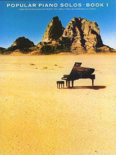 9780860016236: Popular Piano Solos Book 1