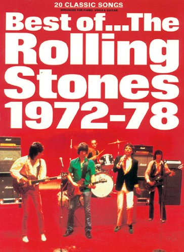 9780860016502: Best of the Rolling Stones 1972 - 78: (Piano Vocal Guitar): v. 2