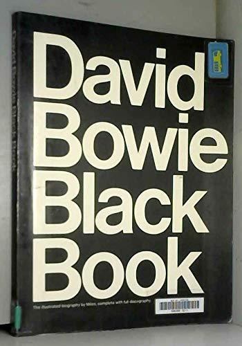 9780860018087: David Bowie Black Book