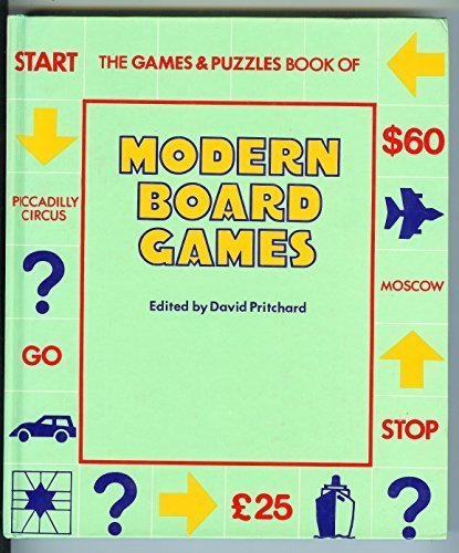 9780860020592: Modern Board Games
