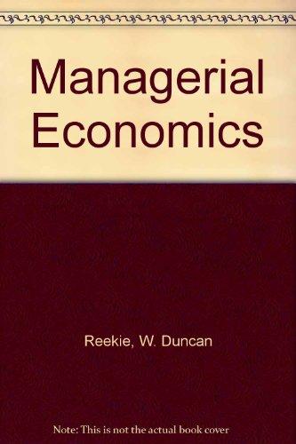 9780860030072: Managerial Economics