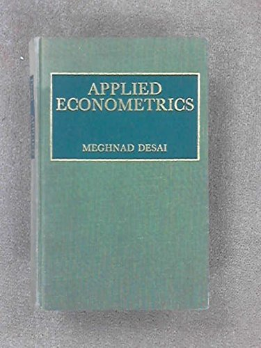 9780860030126: Applied Econometrics