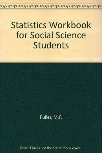 9780860030164: Statistics Workbook for Social Science Students