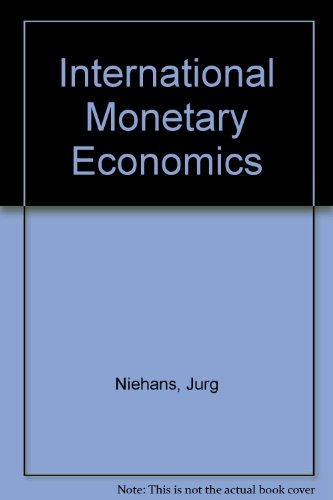 9780860030607: International Monetary Economics