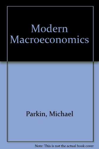 9780860030775: Modern Macroeconomics