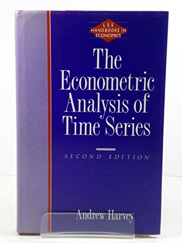 9780860030850: The Econometric Analysis of Time Series