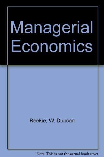 9780860031086: Managerial Economics