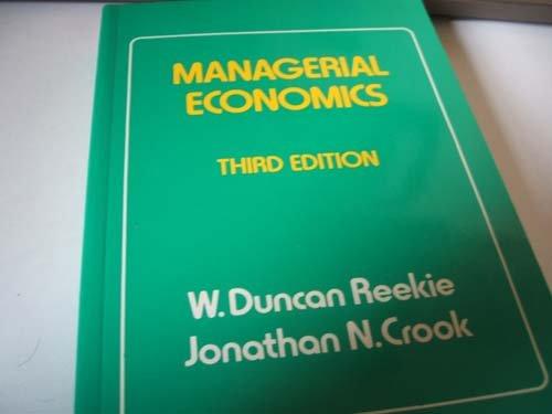 9780860031406: Managerial Economics