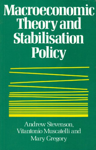 9780860031437: MacRoeconomic Theory and Stabilisation Policy