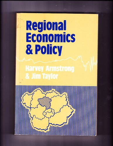 9780860031703: Regional Economics and Policy
