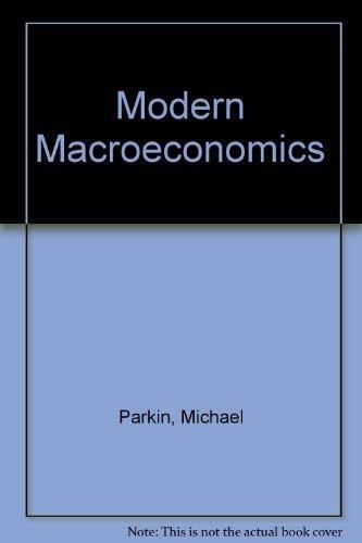 9780860031802: Modern Macroeconomics