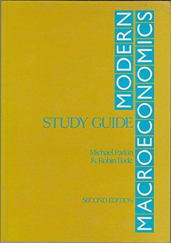 9780860031840: Sm Modern Macroeconomics S/G