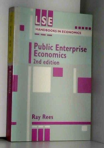 9780860031871: Public Enterprise Economics (London Schl. of Econ. Handbks. in Econ. Analysis)