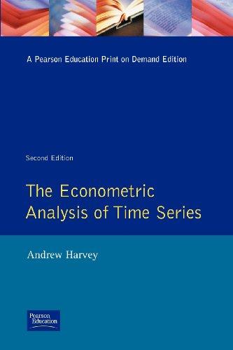 9780860031925: The Econometric Analysis of Time Series