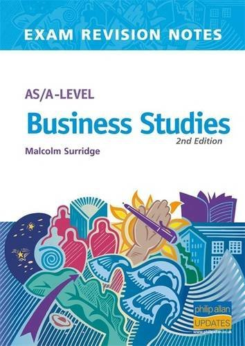 9780860034391: AS/A-level Business Studies (Exam Revision