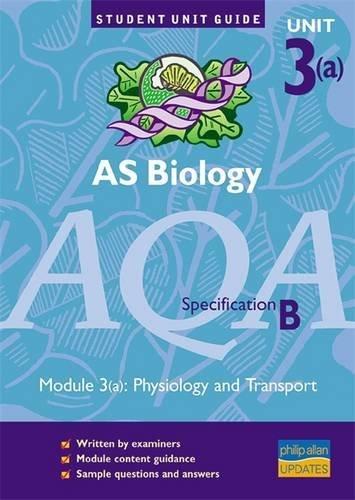 AS Biology AQA (B): Module 3(a): Physiology: Keith Hirst