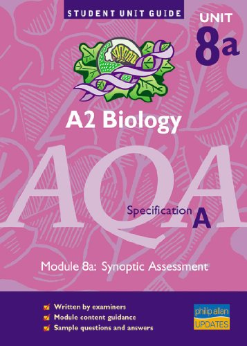 A2 Biology AQA (A) Unit 8(a): Synoptic: Potter, Steve