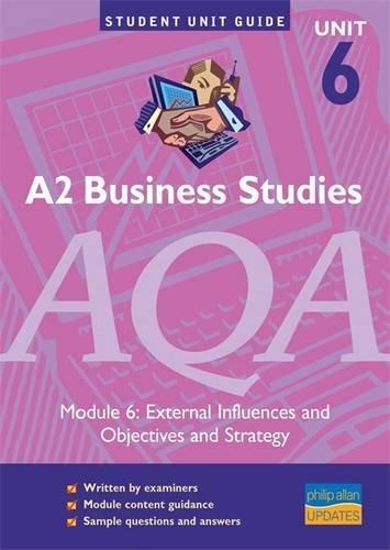 A2 Business Studies AQA Module 6: External: Wolinski, John