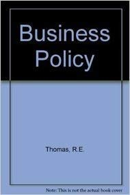 9780860035206: Business Policy