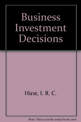 9780860035497: Business Investment Decisions