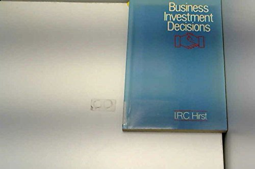 9780860036524: Business Investment Decisions